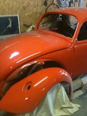 72 volkswagen super beetle custom restoration