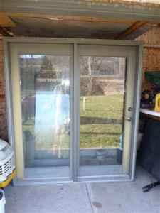 72x80 single swing french door for sale in lacrosse for Single swing french doors