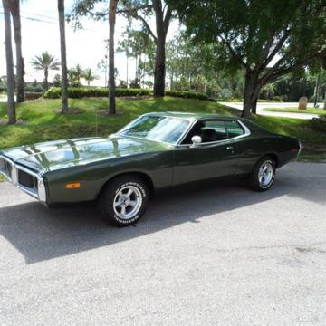 73 dodge charger used muscle car automatic rwd coupe 318v8 leather air con for sale in climax. Black Bedroom Furniture Sets. Home Design Ideas