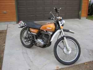 73 Yamaha 250 Enduro - $300 (Clearwater Lake)