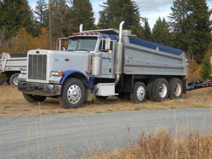 2005 Peterbilt 379 Dump Truck Pups Available For Sale In
