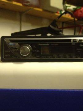 $75, Car Stereo/CD player with Equalizer (apex)