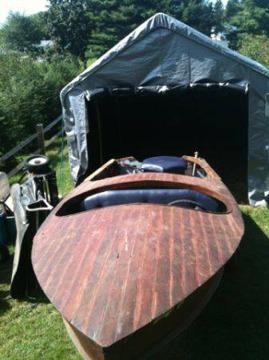 $75 Classic Wagemaker Wolverine boat and trailer