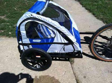 $75 In Step Bike Trailer 1 or 2 kids