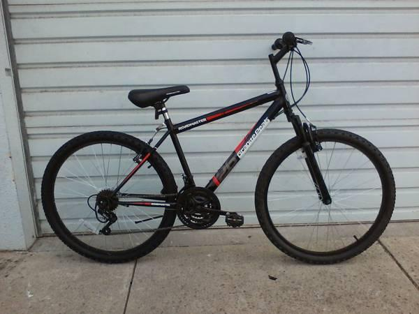 75 Mountain Bike 26 Wheels 18 Speed 18 Frame Shock Black 75