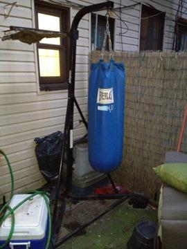 $75 OBO Everlast Heavy Bag with Stand