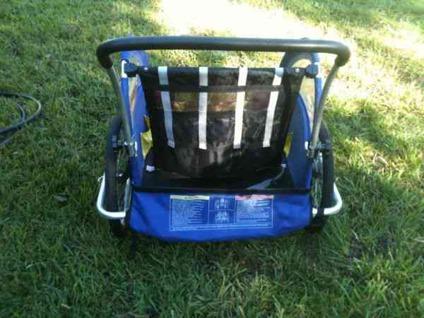 $75 Schwinn Aluminum Bike Trailer / Jogger / Stroller