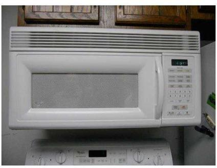 Whirlpool Microwave White Mh7130xeq Over The Range
