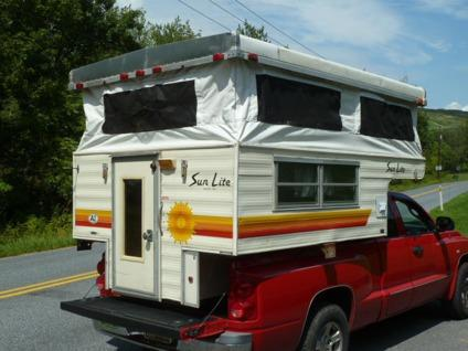 Obo Sunlite Popup Truck Camper For Sale In Hellertown Pennsylvania Classified Americanlisted Com