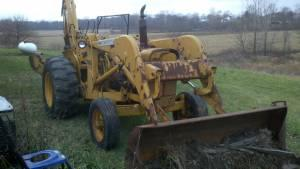 78 John Deere JD400 Backhoe - $5500 (Markleville,In)
