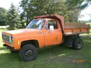 78 chevy 1 ton 4x4 dump truck perry for sale in lansing michigan classified. Black Bedroom Furniture Sets. Home Design Ideas