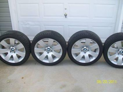 $795 2007 BMW 530i Rims and Nexen N3000 Tires - Great Shape