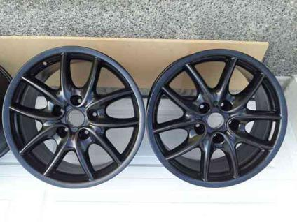 $799 brand new never used porsche wheels audi black Kent