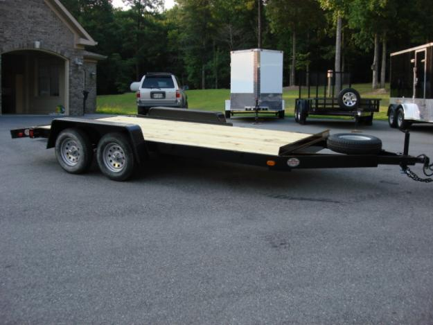 Cars For Sale Newnan Ga 2000: 7ft X 18ft Deluxe Flatbed Car Or Equipment Trailer For