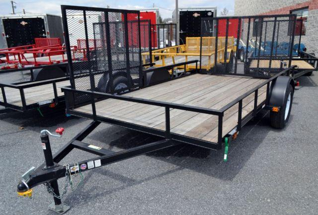 Travel Trailers For Sale In Pa >> 7x12 ATV Trailer - Side Load Gates - Landscape - Utility for Sale in Harrisburg, Pennsylvania ...