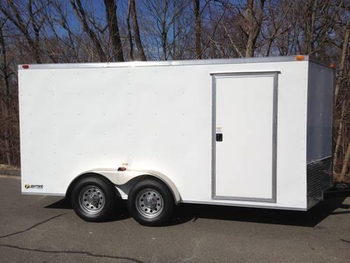 7x14 Enclosed Cargo Trailer V Nose For Sale In Catskill