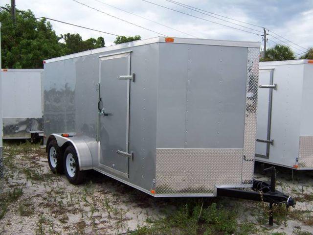 7x14 trailer plus v nose brand new 2015 for sale in stuart florida classified. Black Bedroom Furniture Sets. Home Design Ideas