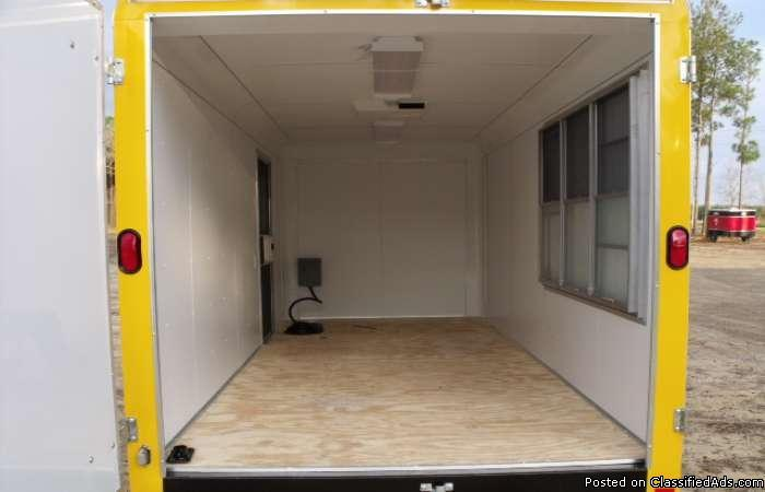 7x16 ta2 concession/ enclosed trailer
