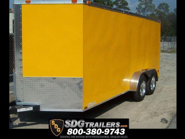 7x18 Motorcycle Cargo Trailer