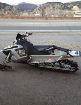 $8,000 2011 polaris pro rmk snowmobile (edwards)