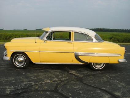 Obo 1953 Chevy Bel Air 2 Door Power Glide For Sale In Muncie