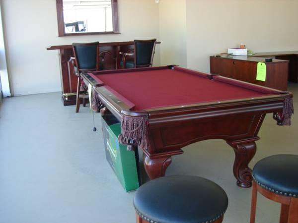 American Heritage Billiard Collection Slate Pool Table For - American heritage billiards pool table