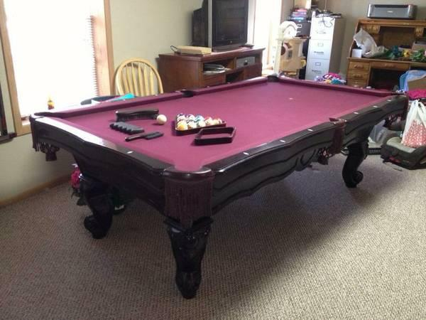 CL Bailey Slate Pool Table For Sale In Reeds Spring Missouri - Cl bailey pool table