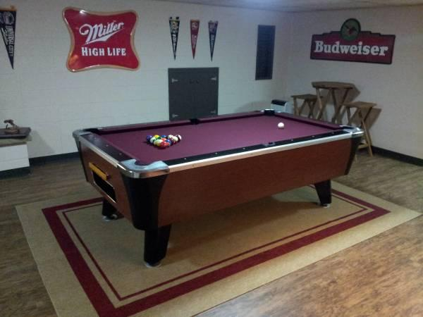 Coin Operated Pool Tables For Sale In Gurnee Illinois - Huge pool table