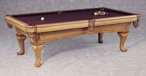 8 Oak Amf Playmaster Pool Table Like New Carterville For Sale In Carbondale Illinois