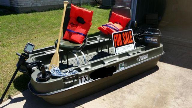 8 Pelican Bass Raider W Extras