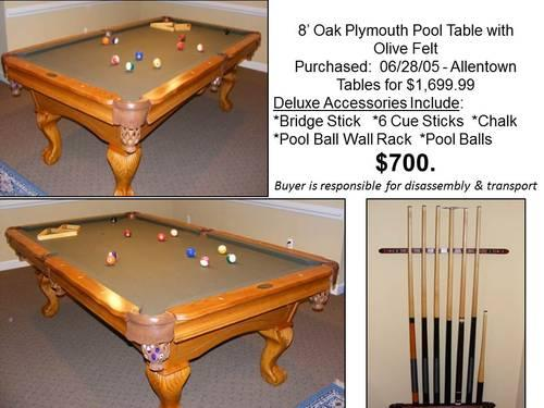 Pool Table For Sale In Maryland Classifieds Buy And Sell In - Pool table disassembly