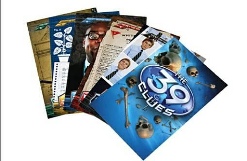 8 sets of 39 Clues collectible online cards from the book series - $5