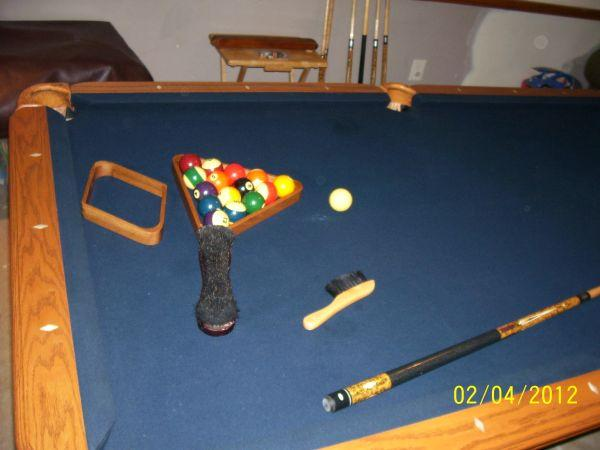 Awesome 8u0027 Slate Pool Table/Camelot Or Best Offer   $1000