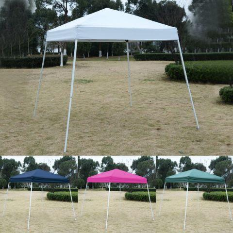 8'X8'EZ POP UP Tent Gazebo Wedding Party Shelter Carry