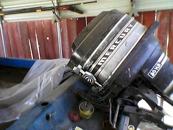 80 Hp Mercury Outboard Motor With Thunderbolt Ignition And