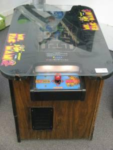 80s Midway Ms. Pac-Man Table Video Game - $430 Ogden