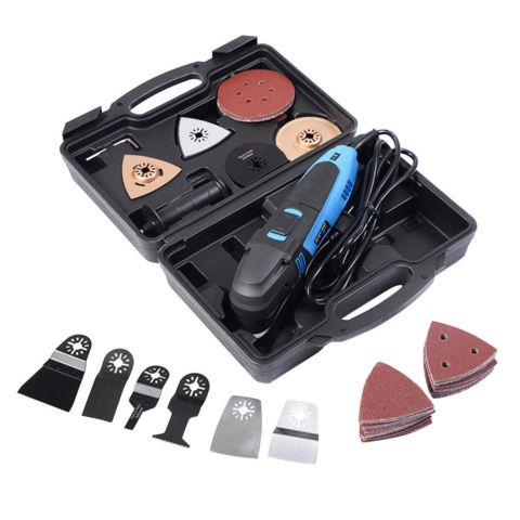 80PCS Multi-Function oscillating multi tool saw set