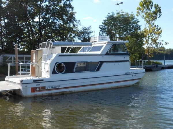 81 Viking House Boat 26 W Trailer 10500 For Sale In