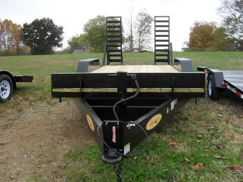 Bobcat Trailer Fenders : Loader toter equipment trailer radial tires lugs