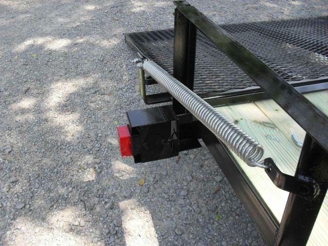 82x16 Landscape Trailer 7k Spring Assist Gate Brakes