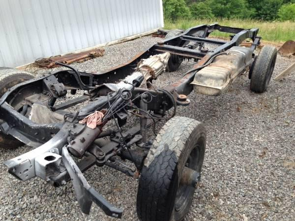 84 Chevy 2500 Roller Chassis For Sale In Woodsfield