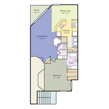 $848 1 Apartment in Seminole (Altamonte) Central FL