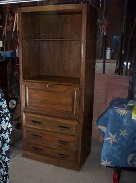 $85 Armoire,desk,dresser Combo