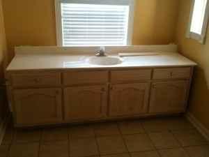 "85"" Bathroom vanity and sink top - (Memphis) for Sale in ..."