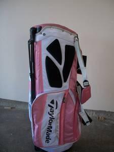 $85 Womens Pink Golf Bag Taylor Made