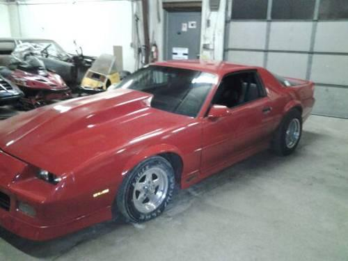 86 Camaro Rs Parts Only For Sale In Sheboygan Wisconsin