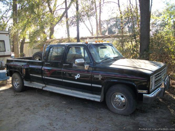86 chevy 3500 crewcab for sale in savannah georgia classified. Black Bedroom Furniture Sets. Home Design Ideas