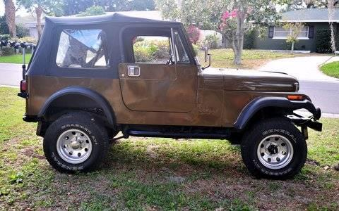 86 cj7 jeep for sale in clearwater florida classified. Black Bedroom Furniture Sets. Home Design Ideas
