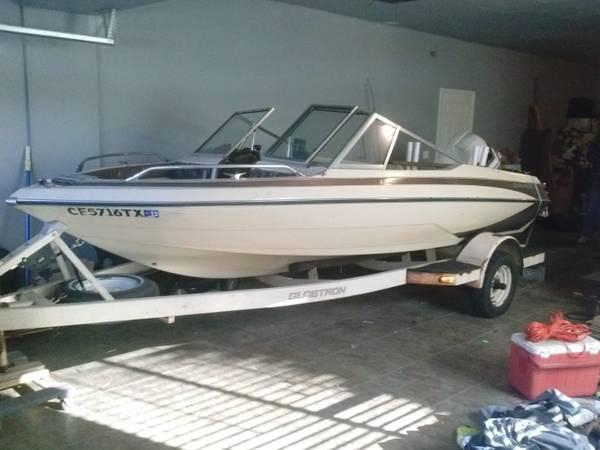 86 Glastron 17 Foot Fishing Ski Boat 3000 Obo For Sale