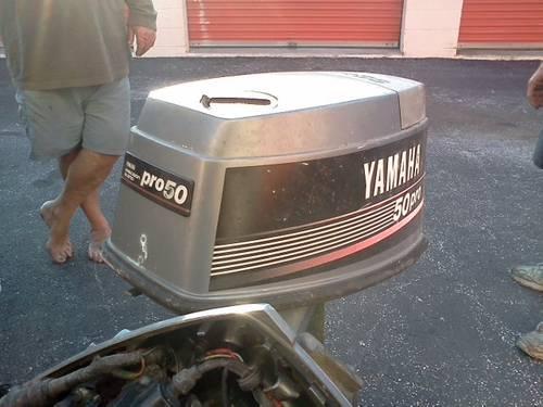 87 40 hp 50 hp Yamaha, lower unit, carbs, hood , prop,cdi